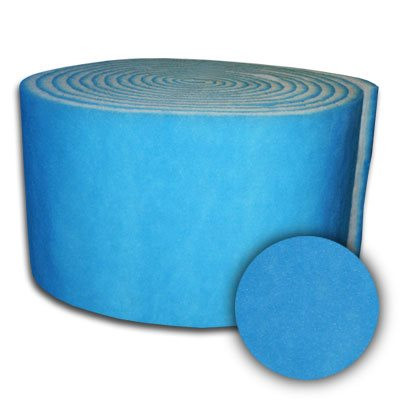 90x7/8 Sure-Fit Blue/White Dry Tackified 10oz 90Ft Master Roll