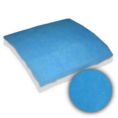 12x24x1-7/8 Sure-Fit Blue/White Dry Tackified 15oz Pad