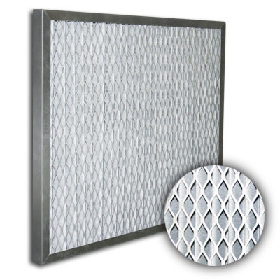 25x25x1 Titan-Flo Galvanized Frame High Efficiency Impact Element w/Felt