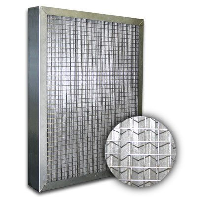 Titan-Flo Aluminum Frame Pleated 100 Mesh Industrial Panel