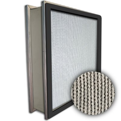 Puracel HEPA 99.99% High Capacity Box Filter Double Header Gasket Up Stream Under Cut 23-3/8x23-3/8x5-7/8