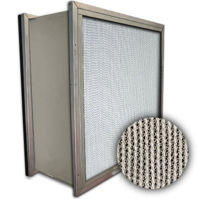 Puracel HEPA 99.999% Standard Capacity Box Filter Double Header Gasket Down Stream Under Cut 23-3/8x23-3/8x11-1/2