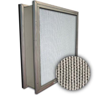 Puracel HEPA 99.999% High Capacity Box Filter Double Header Gasket Down Stream Under Cut 23-3/8x23-3/8x5-7/8