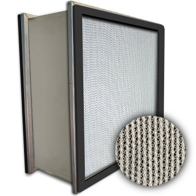 Puracel HEPA 99.99% High Capacity Box Filter Double Header Gasket Both Sides Under Cut 23-3/8x23-3/8x11-1/2