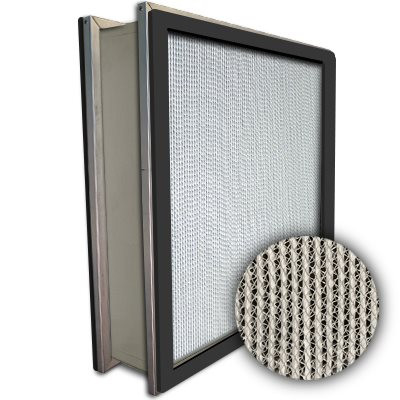 Puracel HEPA 99.99% Standard Capacity Box Filter Double Header Gasket Both Sides Under Cut 23-3/8x23-3/8x5-7/8
