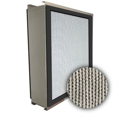 Puracel HEPA 99.999% High Capacity Box Filter Double Turn Flange Gasket Both Sides 24x24x6