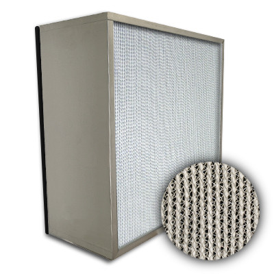 Puracel HEPA 99.99% Standard Capacity Box Filter No Header Gasket Down Stream Under Cut 23-3/8x11-3/8x11-1/2