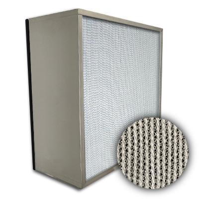 Puracel HEPA 99.999% High Capacity Box Filter No Header Gasket Down Stream Under Cut 23-3/8x23-3/8x11-1/2