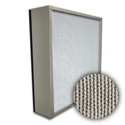 Puracel HEPA 99.999% High Capacity Box Filter No Header Gasket Down Stream Under Cut 23-3/8x11-3/8x5-7/8