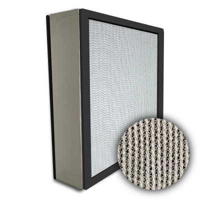 Puracel HEPA 99.999% Standard Capacity Box Filter No Header Gasket Both Sides Under Cut 23-3/8x23-3/8x5-7/8