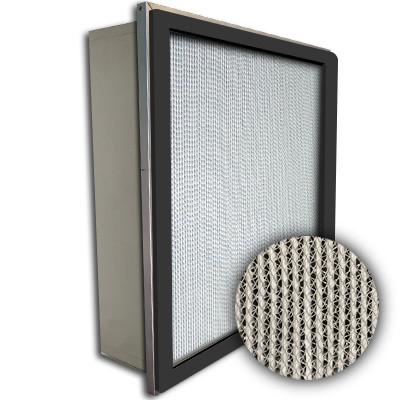 Puracel HEPA 99.99% High Capacity Box Filter Single Header Gasket Up Stream Under Cut 23-3/8x23-3/8x5-7/8