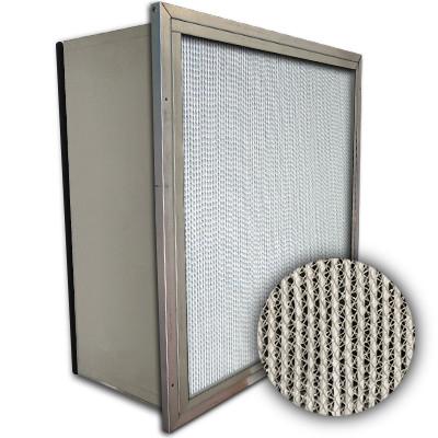 Puracel HEPA 99.999% High Capacity Box Filter Single Header Gasket Down Stream Under Cut 23-3/8x11-3/8x11-1/2