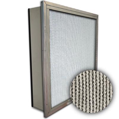 Puracel HEPA 99.99% High Capacity Box Filter Single Header Gasket Down Stream Under Cut 23-3/8x23-3/8x5-7/8