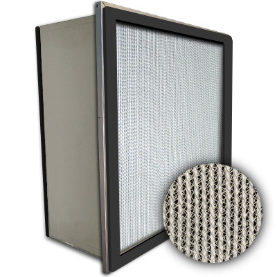 Puracel HEPA 99.99% High Capacity Box Filter Single Header Gasket Both Sides Under Cut 23-3/8x23-3/8x11-1/2