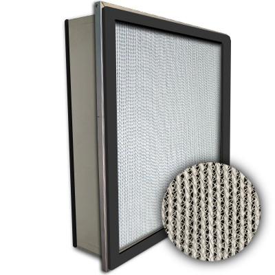 Puracel HEPA 99.97% Standard Capacity Box Filter Single Header Gasket Both Sides Under Cut 23-3/8x23-3/8x5-7/8