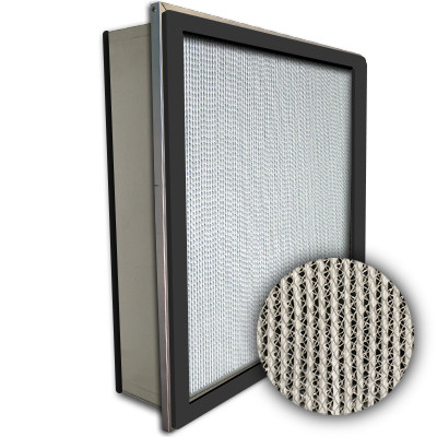 Puracel HEPA 99.999% Standard Capacity Box Filter Single Header Gasket Both Sides 24x24x6