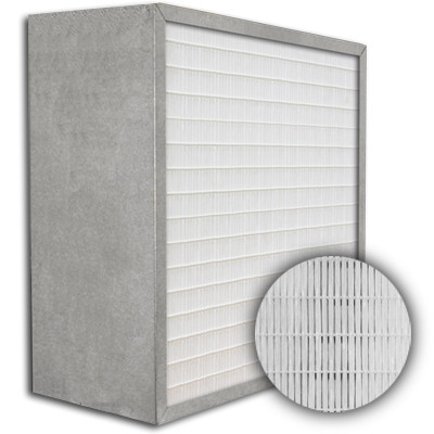 SuperFlo Max ASHRAE 95% (MERV 14/15) Metal Cell Frame Mini Pleat Filter 24x24x12