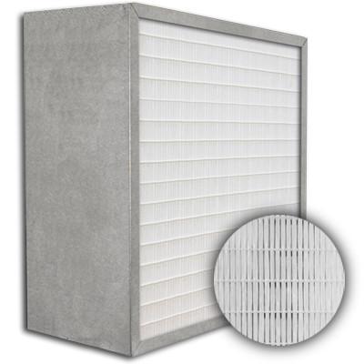 SuperFlo Max ASHRAE 45% (MERV 8/9) Metal Cell Frame Mini Pleat Filter 20x20x12
