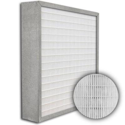 SuperFlo Max ASHRAE 95% (MERV 14/15) Metal Cell Frame Mini Pleat Filter 24x24x4