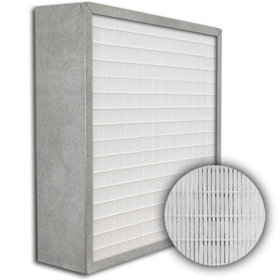 SuperFlo Max ASHRAE 85% (MERV 13) Metal Cell Frame Mini Pleat Filter 20x20x6