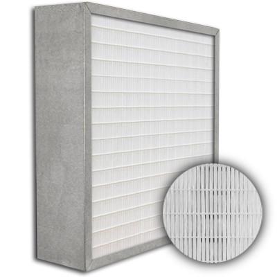 SuperFlo Max ASHRAE 85% (MERV 13) Metal Cell Frame Mini Pleat Filter 24x24x6