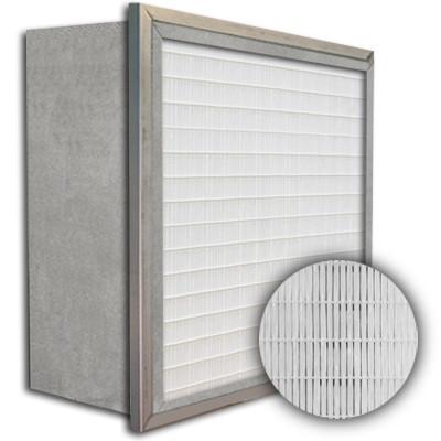 SuperFlo Max ASHRAE 65% (MERV 11/12) Metal Cell Single Header Mini Pleat Filter 16x25x12