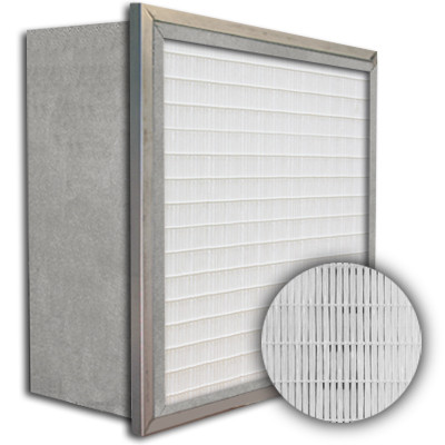SuperFlo Max ASHRAE 65% (MERV 11/12) Metal Cell Single Header Mini Pleat Filter 20x20x12