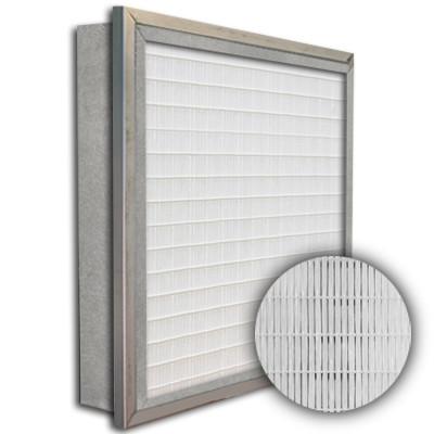SuperFlo Max ASHRAE 95% (MERV 14/15) Metal Cell Frame Mini Pleat Single Header Filter 16x25x4