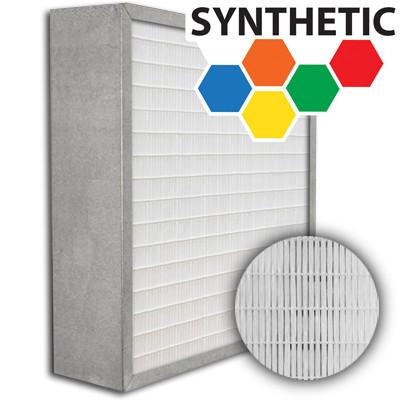 SuperFlo Max Synthetic ASHRAE 65% (MERV 11/12) Metal Cell Frame Mini Pleat Filter 16x25x6