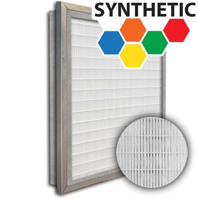 SuperFlo Max Synthetic ASHRAE 95% (MERV 14/15) Metal Cell Frame Mini Pleat Single Header Filter 16x25x2