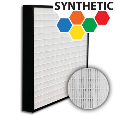 SuperFlo Max Synthetic ASHRAE 65% (MERV 11/12) Plastic Frame Frame Mini Pleat Filter 24x24x2