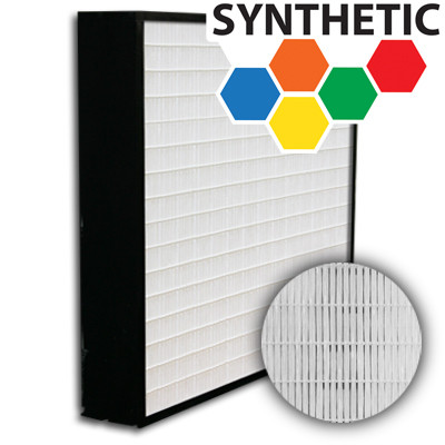 SuperFlo Max Synthetic ASHRAE 95% (MERV 14/15) Plastic Frame Frame Mini Pleat Filter 20x24x4