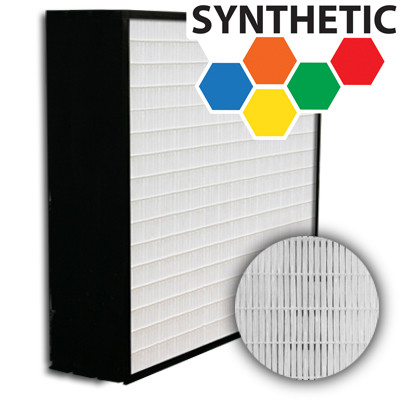 SuperFlo Max Synthetic ASHRAE 65% (MERV 11/12) Plastic Frame Frame Mini Pleat Filter 24x24x6