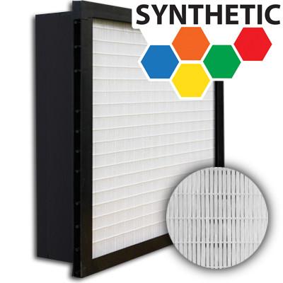 SuperFlo Max Synthetic ASHRAE 65% (MERV 11/12) Plastic Frame Single Header Mini Pleat Filter 24x24x6
