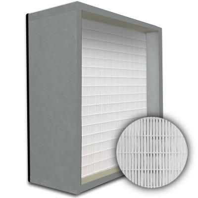 SuperFlo Max HEPA 99.999% Metal Cell Gasket Down Stream Frame Mini Pleat Filter 24x24x12