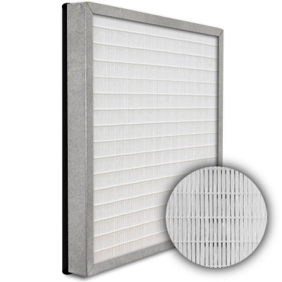 SuperFlo Max HEPA 99.999% Metal Cell Gasket Down Stream Frame Mini Pleat Filter 12x12x2
