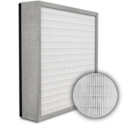 SuperFlo Max HEPA 99.999% Metal Cell Gasket Down Stream Frame Mini Pleat Filter 12x12x4