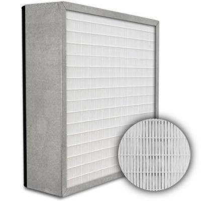 SuperFlo Max HEPA 99.97% Metal Cell Gasket Down Stream Frame Mini Pleat Filter 24x24x6