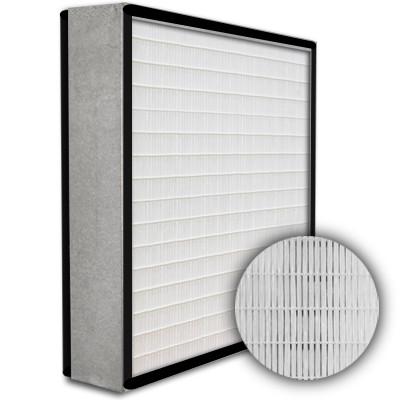 SuperFlo Max HEPA 99.999% Metal Cell Gasket Both Sides Frame Mini Pleat Filter 24x24x4