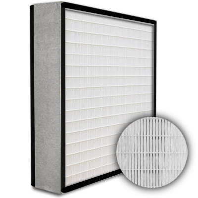 SuperFlo Max HEPA 99.99% Metal Cell Gasket Both Sides Frame Mini Pleat Filter 12x24x4