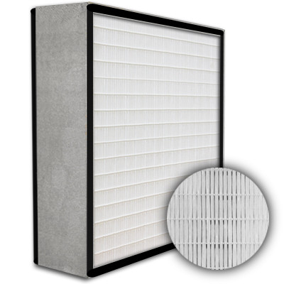 SuperFlo Max HEPA 99.97% Particle Board Gasket Both Sides Frame Mini Pleat Filter 12x24x6