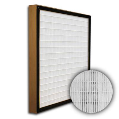 SuperFlo Max HEPA 99.999% Particle Board Gasket Up Stream Mini Pleat Filter 24x24x2