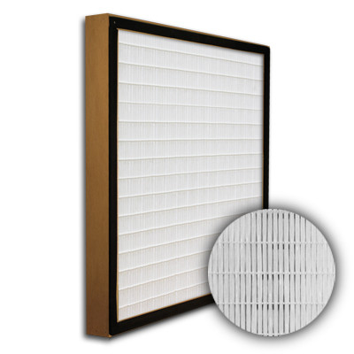SuperFlo Max DOP Particle Board Gasket Up Stream Frame Mini Pleat Filter 20x25x2
