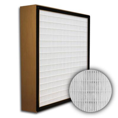 SuperFlo Max HEPA 99.999% Particle Board Gasket Up Stream Mini Pleat Filter 12x24x4