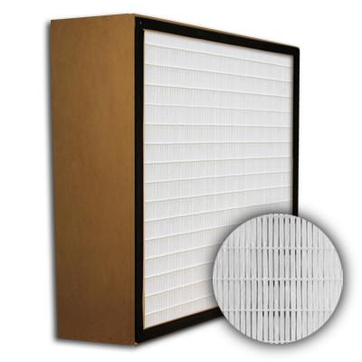 SuperFlo Max HEPA 99.99% Particle Board Gasket Up Stream Mini Pleat Filter 16x25x6