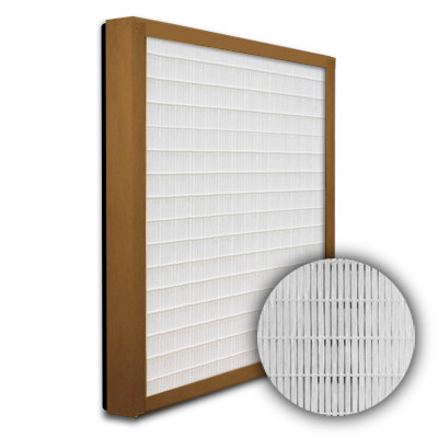 SuperFlo Max DOP Particle Board Gasket Down Stream Frame Mini Pleat Filter 16x25x2