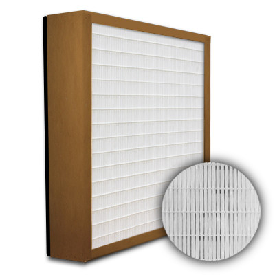 SuperFlo Max HEPA 99.99% Particle Board Gasket Down Stream Mini Pleat Filter 12x12x4