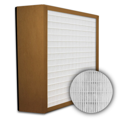 SuperFlo Max HEPA 99.99% Particle Board Gasket Down Stream Mini Pleat Filter 24x24x6
