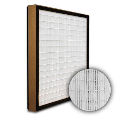 SuperFlo Max HEPA 99.99% Particle Board Gasket Both Sides Frame Mini Pleat Filter 24x24x2
