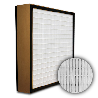 SuperFlo Max HEPA 99.999% Particle Board Gasket Both Sides Frame Mini Pleat Filter 12x24x4